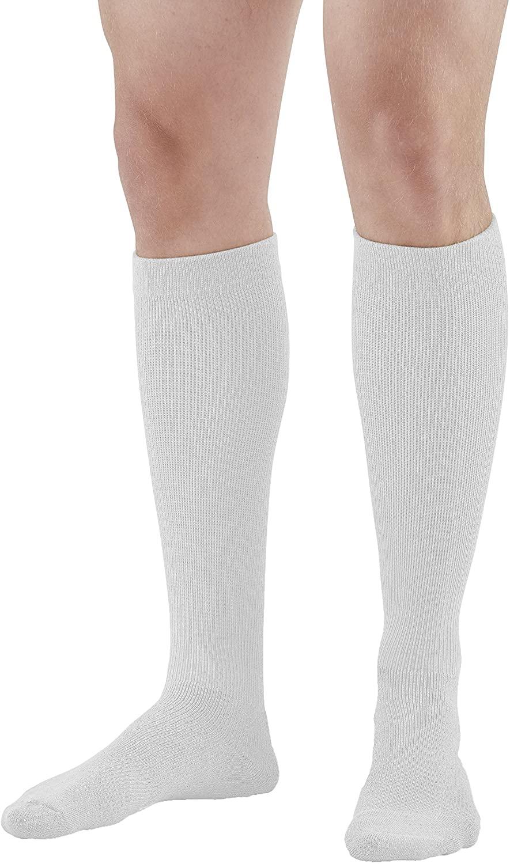 Ames Walker AW Styles 120/125/150 Coolmax 20 30 Knee High Socks White Large