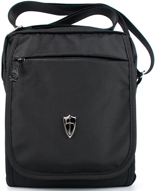 Victoriatourist V3002 Shoulder Bag Vertical Messenger Bag, Black