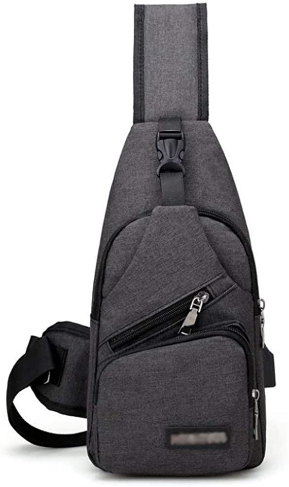 Sling Bag Crossbody Bag Shoulder Chest Back Pack Anti Theft Travel Bags