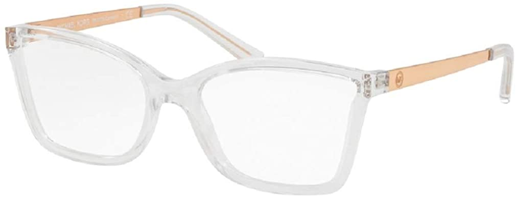 Michael Kors MK4058 CARACAS Rectangle Eyeglasses For Women+FREE Complimentary Eyewear Care Kit