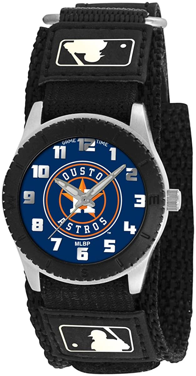 Game Time Youth MLB Rookie Black Watch - Houston Astros
