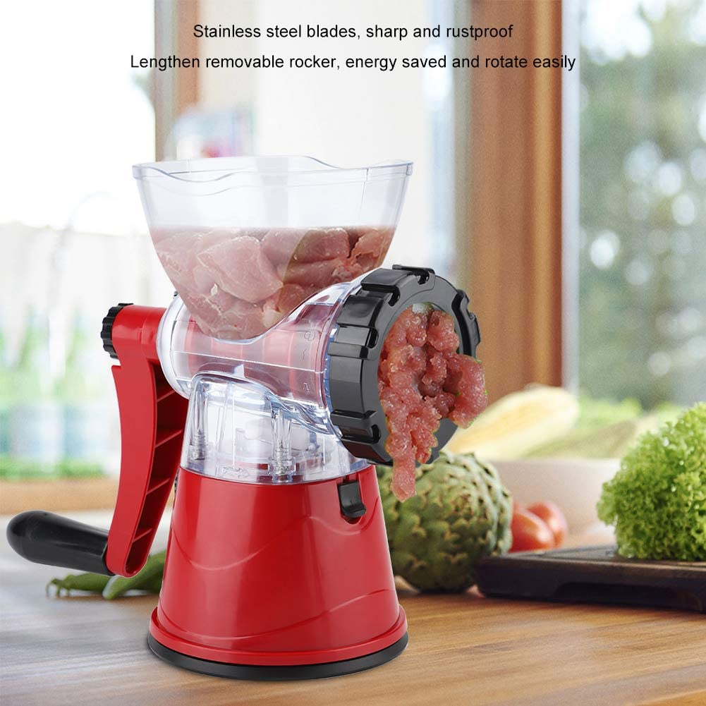 Food Processor, Kitchen Cutter Home Supplies Seasoning Grinder Meat Grinder, for Kitchen All Meats for Home Food