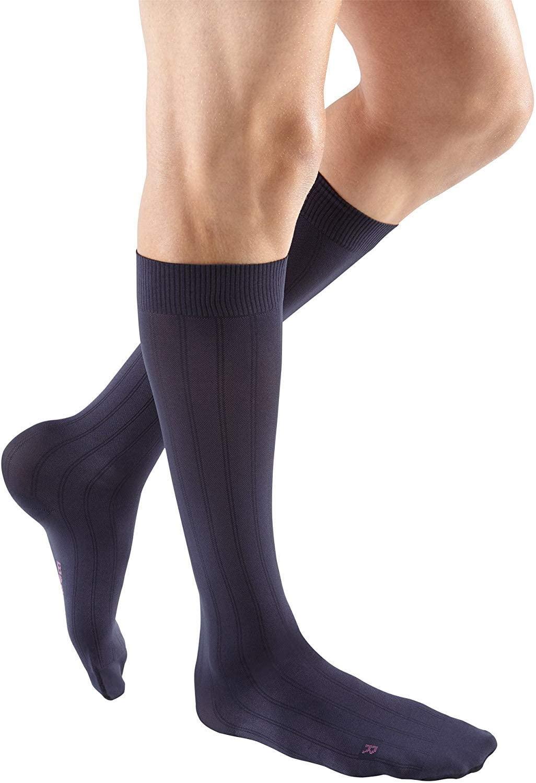 mediven for Men Classic, 15-20 mmHg, Calf High Compression Stockings, Closed Toe
