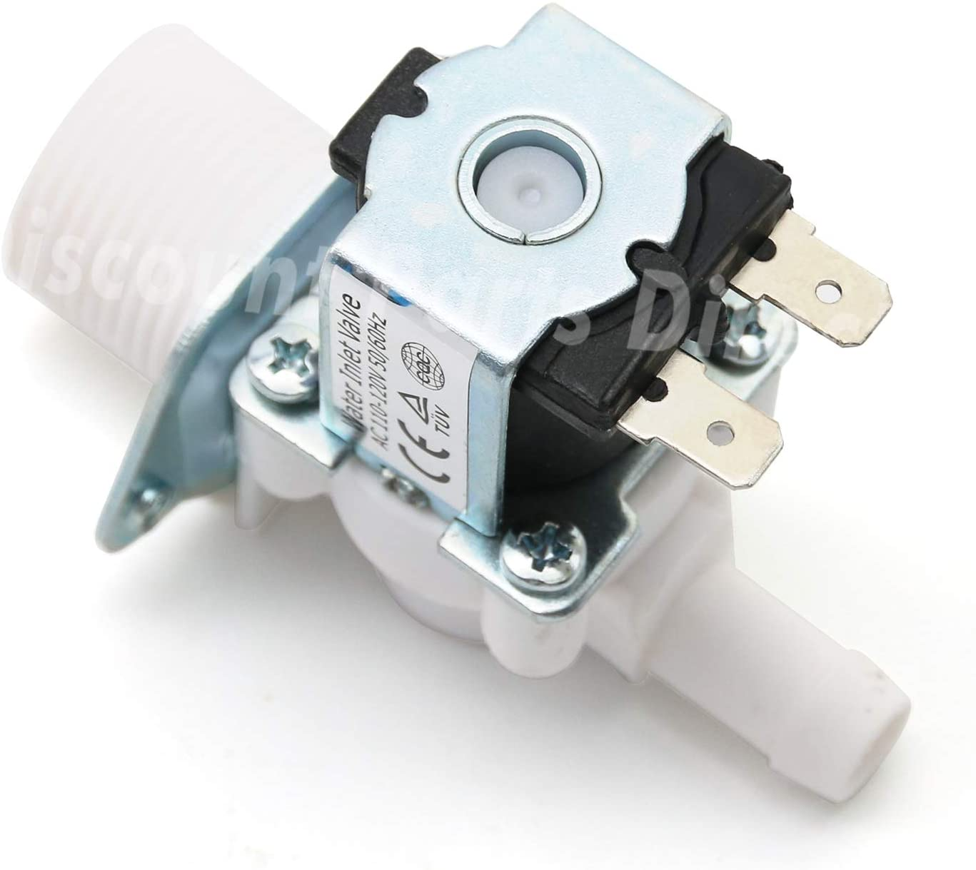 5220FR2006H Washer Hot Water Inlet Valve for LG Kenmore Sears Washers, Replaces: PS3527427 1268123, 5220FR2006H, 5220FR2006L, 5220FR2006Q, AP4441935 By Discount Parts Direct