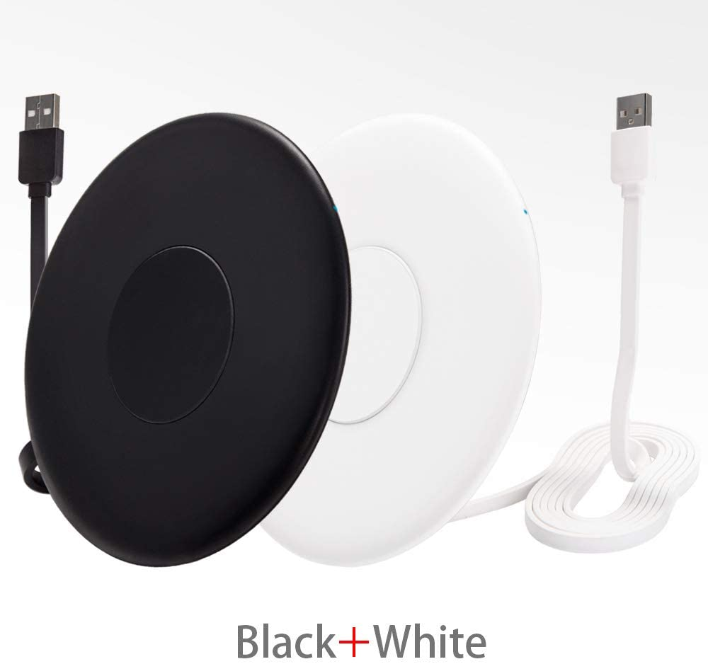 FutureCharger (2 Pack) Wireless Charger Qi Wireless Charging Pad iPhone Wireless Charger Airpod pro Charger Charging Pad for iPhone 11/11 Pro/11 Pro Max/XS MAX/XR/XS/X/8 Galaxy S20/Note 10/Note 9/S10