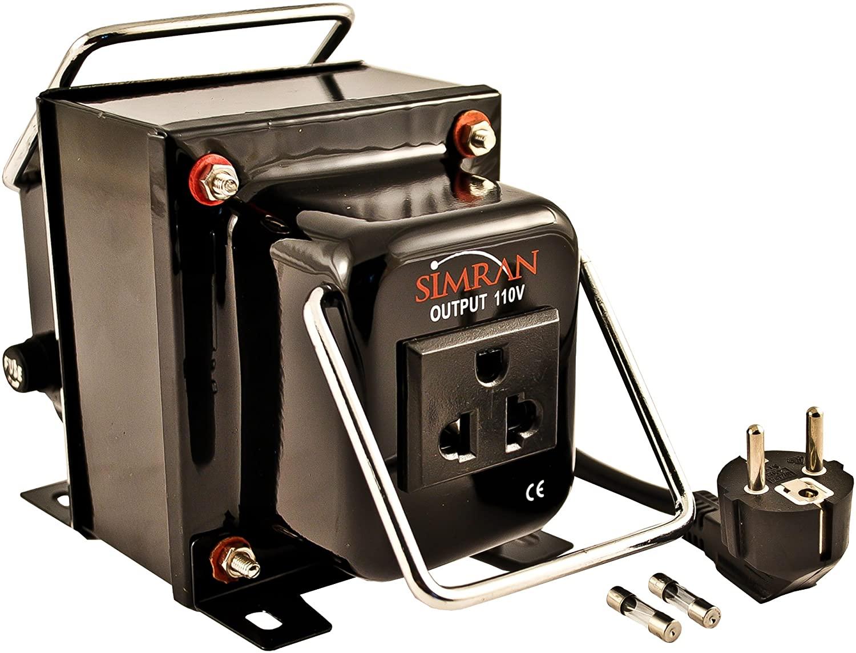 Simran THG-2000 Step Down Voltage Transformer 2000 Watts Converts AC 220/240 Volt to 110 Volt