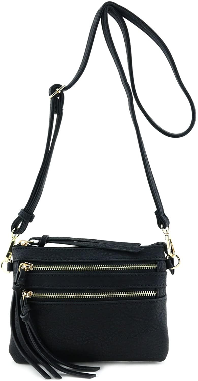 Multi Pocket Small Crossbody Bag