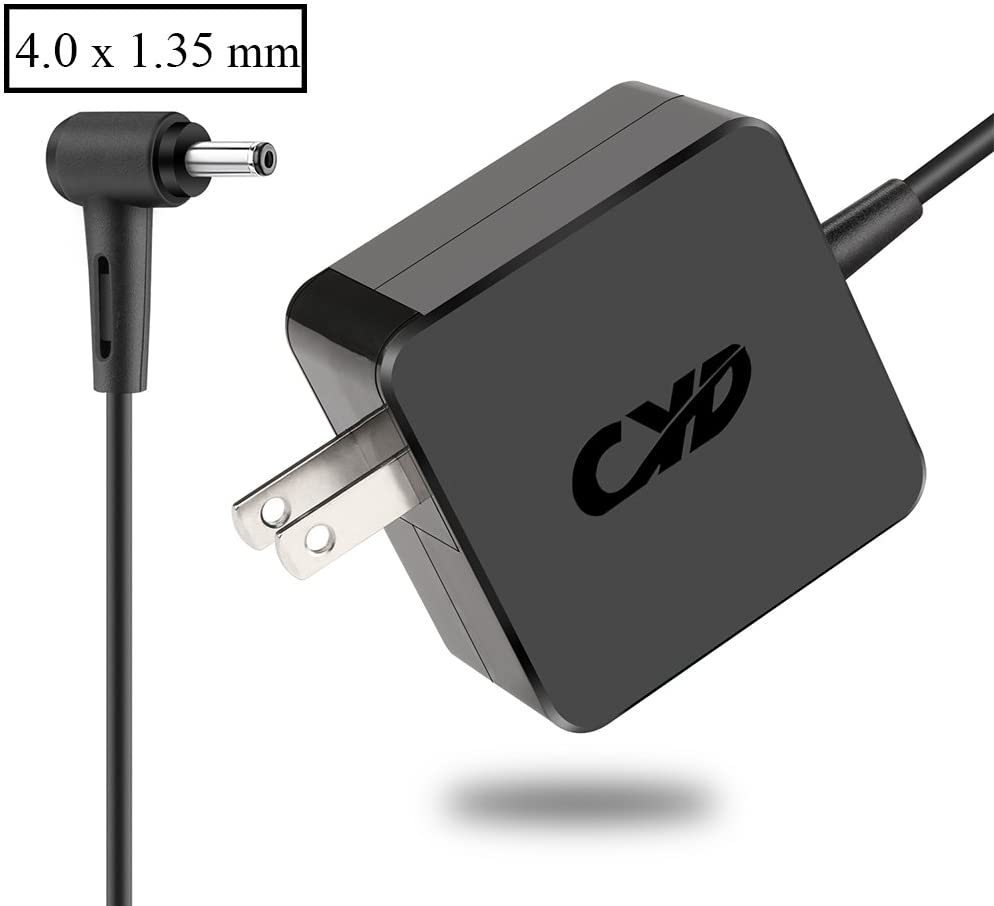 CYD 65W PowerFast-Replacement for Laptop-Charger Asus UX330UA UX330U UX360C UX360UA Q534U R541U R541UA K556UQ Q534UX UX303U X556UV X556U Q304U Q304UA X556UR Q303UA Q303U Q504U X202 Power-Cord
