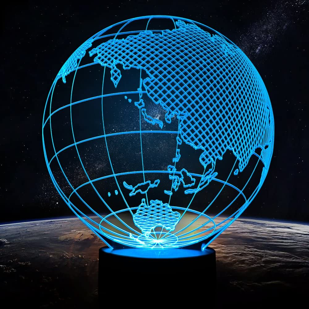 Night Light for Baby Globes Led Table Lamp 7 Colors Changing Light Lamp Home Birthday Party Decoration Kids' Room Decorations