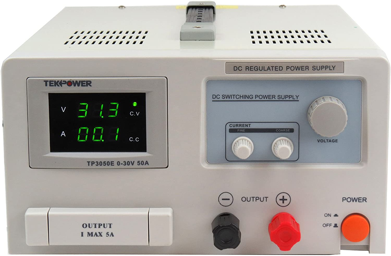 TekPower TP3050E DC Adjustable Switching Power Supply 30V 50A Digital Display