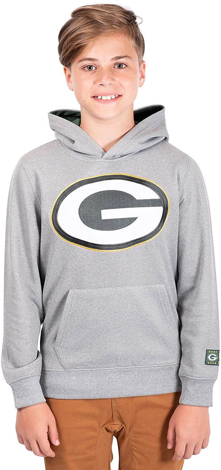 Ultra Game NFL boys Extra Soft Poly Dry Fleece Pullover