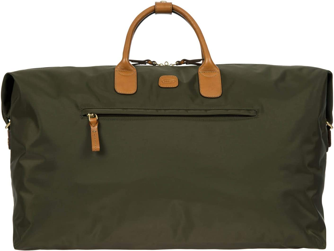Bric's x-Travel 2.0 22 Inch Deluxe Cargo Overnight/Weekend Duffel Bag, Olive, One Size