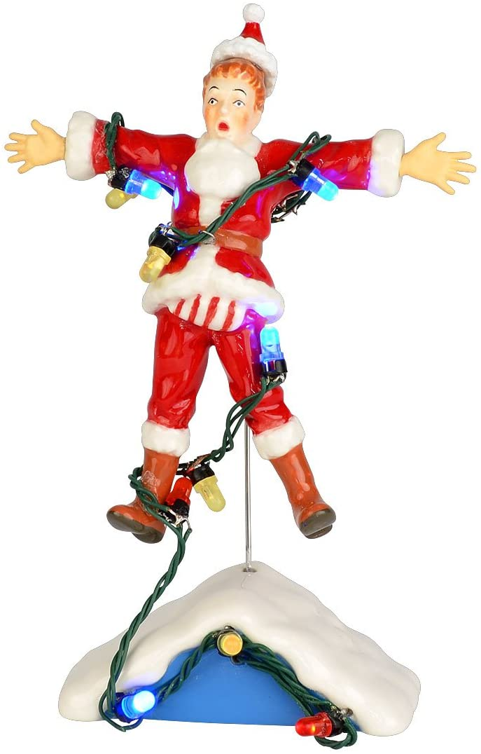 Department 56 National Lampoon Christmas Vacation Village Shocking Clark Accessory