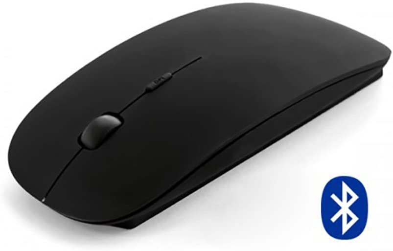 MOJO - Bluetooth Silent Mouse Optical Wireless Quiet Mouse (Black)