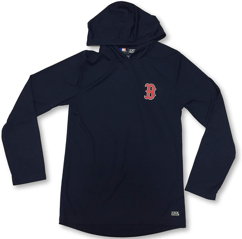 Boston Red Sox Adult Men's Lightweight Long Sleeve Hoodie