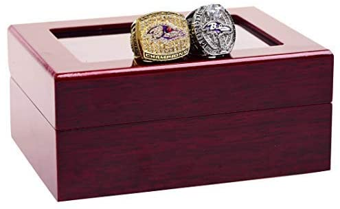 Replica Championship Ring for Baltimore Ravens Set Gift Fashion Gorgeous Collectible Jewelry