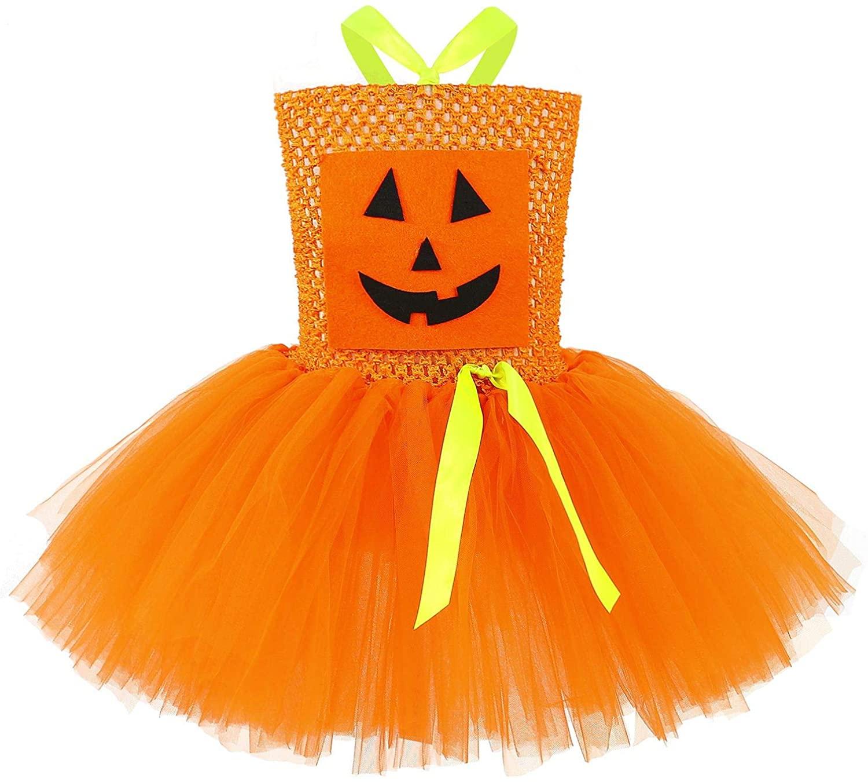 Jxstar Halloween Costume for Girls Tutu Dresses Cosplay Party Princess