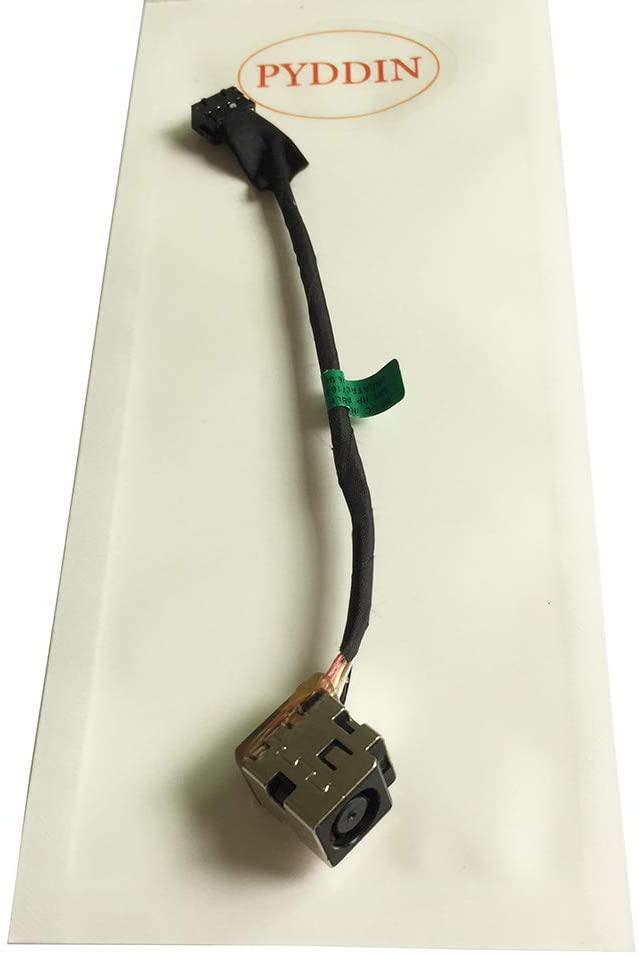 PYDDIN New Laptop DC Power Jack with Cable/Harness for HP ProBook 440 445 450 455 G1, P/N: 710431-SD1 710431-FD1 710431-YD1