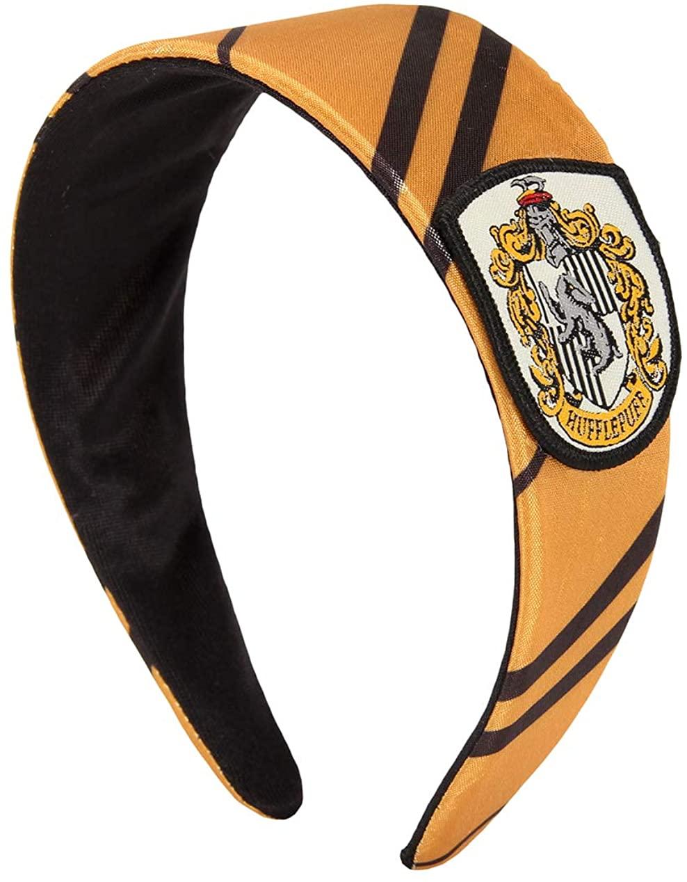 elope Harry Potter Costume Headband Hufflepuff for Women Yellow