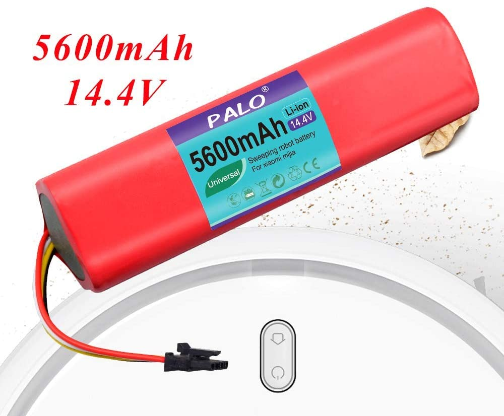 PALO Replacement Battery for Xiaomi Vacuum Robot Cleaner Accessories Roborock S50 S51,5600mAh