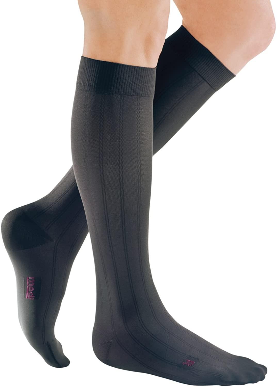 mediven for Men Classic, 30-40 mmHg, Calf High Compression Stockings, Closed Toe