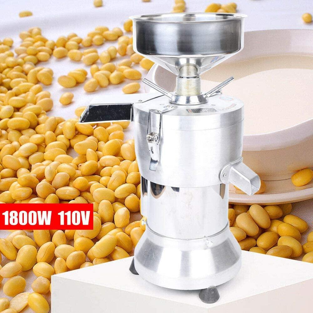 1800W Soybean Grinding Machine Soybean Pulping Milk Machine Soymilk Maker Stainless Steel + Alloy