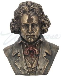 Unicorn Studios WU76459A4 Ludwig Beethoven Bust Musician Sculpture