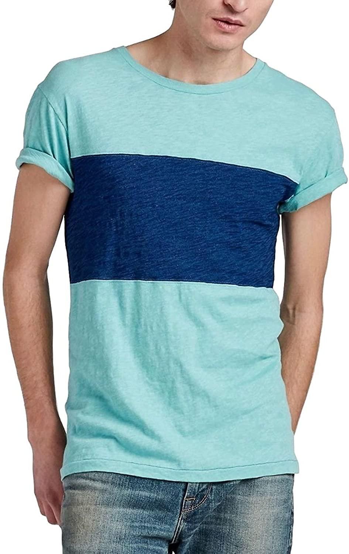 Lucky Brand - Men's - Color Block Cotton Crew T-Shirt