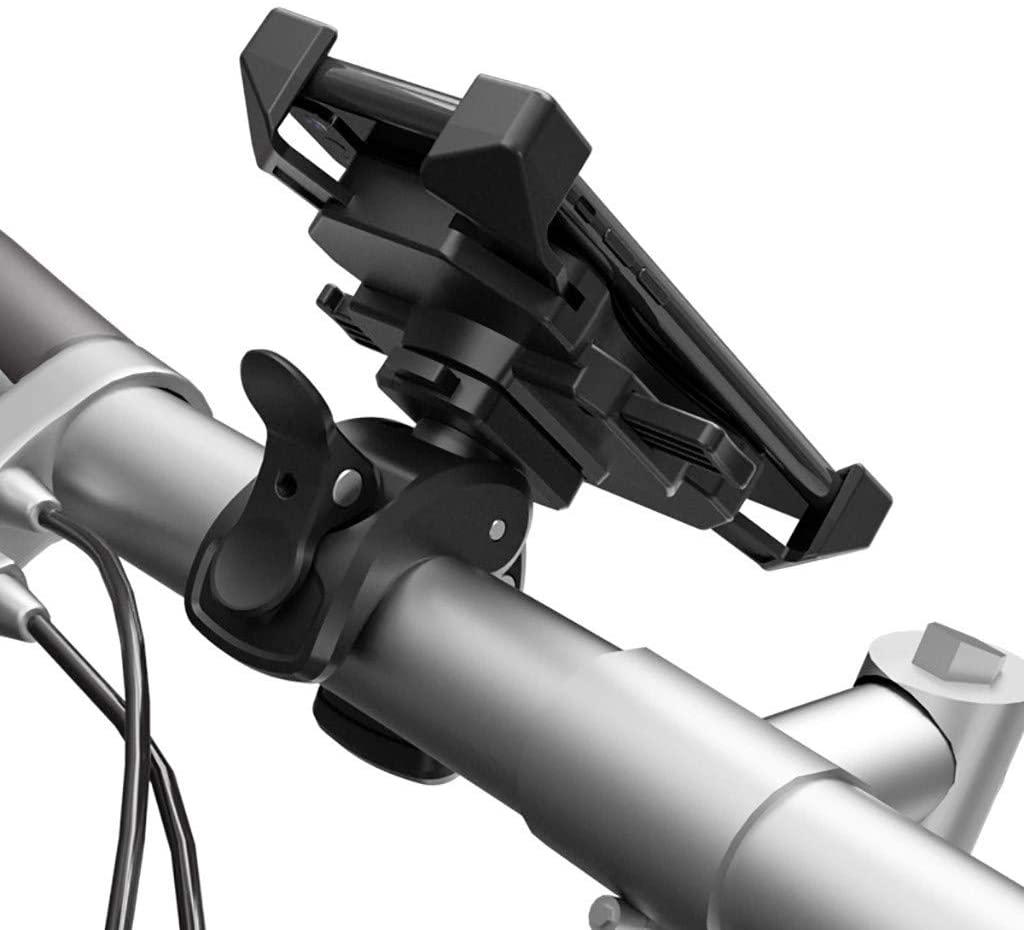 Bicycle Phone Holder Mount,Bicycle Motorcycle Bracket Electric Vehicle Riding Navigation Mobile Phone Shockproof Bracket