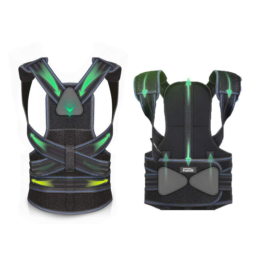 Back Brace Posture Corrector   Adjustable Aluminum Bracket That Best fits Human biomechanics   Improve Bad Slouching Problems for Scoliosis and Back Pain  Men Women Girl Boy