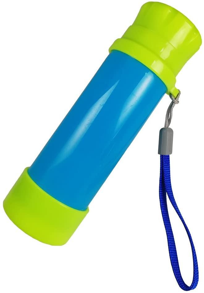 Luwint Portable Pocket Pirate Monocular Telescope - Retractable Educational Science Toys Spyglass for Kids Boys Girls (Dark Blue/Green)