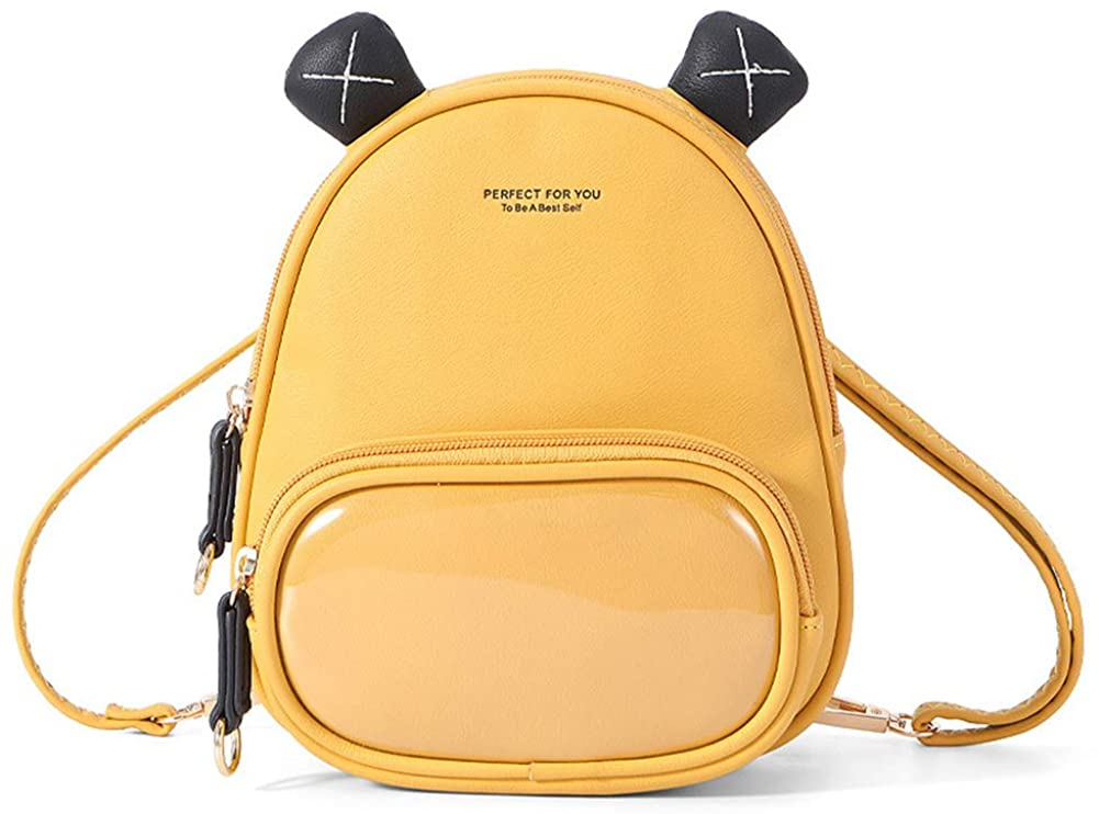 Aeeque Mini Backpack Purse for Women, Cute Leather Small Crossbody Shoulder Bag