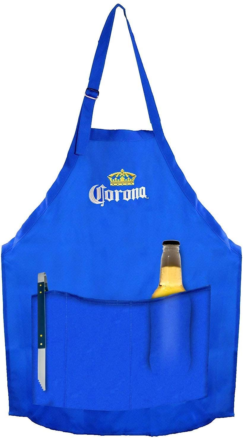 Bbq Aprons for Women and Men with Pockets Grill or Kitchen Waterproof Chef Apron for Outdoor Grilling or Indoor Cooking Fits all Sizes Mens or Womens