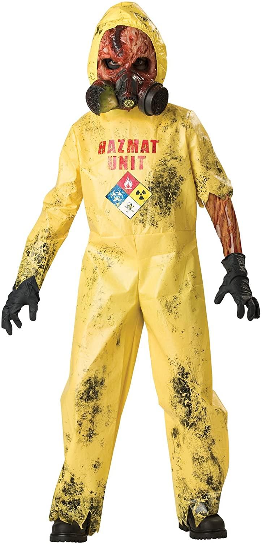 InCharacter Hazmat Hazard Child Costume - Large, Yellow, Large 10