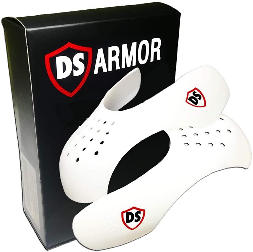 Shoe Shields Crease Preventers by DS Armor, Sneaker Toe Box Decreaser Men 7.5-13 / Women 5-9