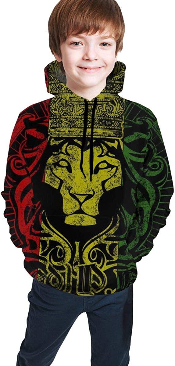 NiYoung Casual Pullover Hoodie Hooded Sweatshirt Tracksuits for Boys Girls Teens Junior