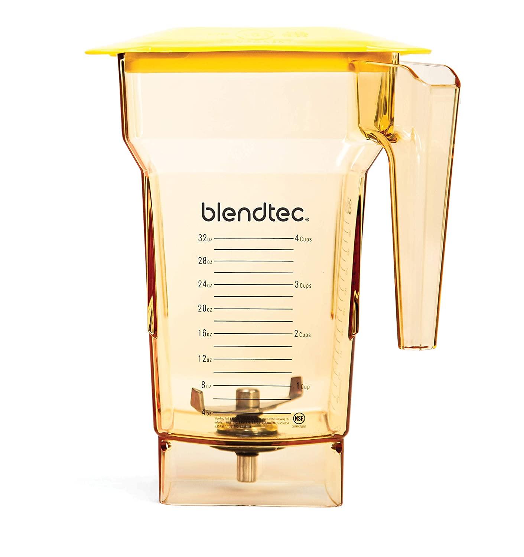 Blendtec Fourside Blender Jar-2 Quart-Yellow