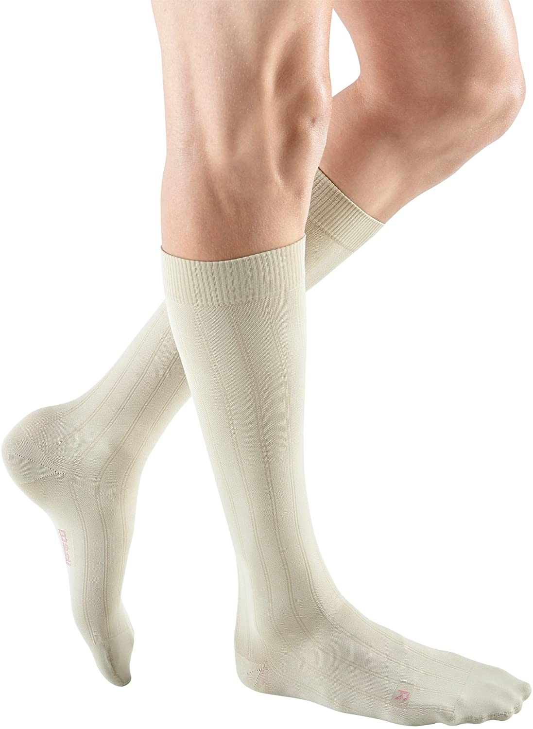 mediven for Men Classic, 20-30 mmHg, Calf High Compression Stockings, Closed Toe
