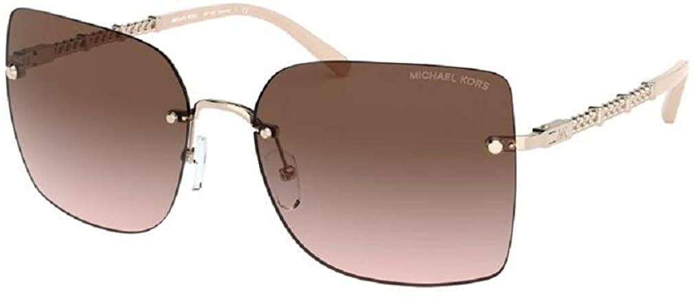 Michael Kors MK1057 AURELIA Square Sunglasses For Women+FREE Complimentary Eyewear Care Kit
