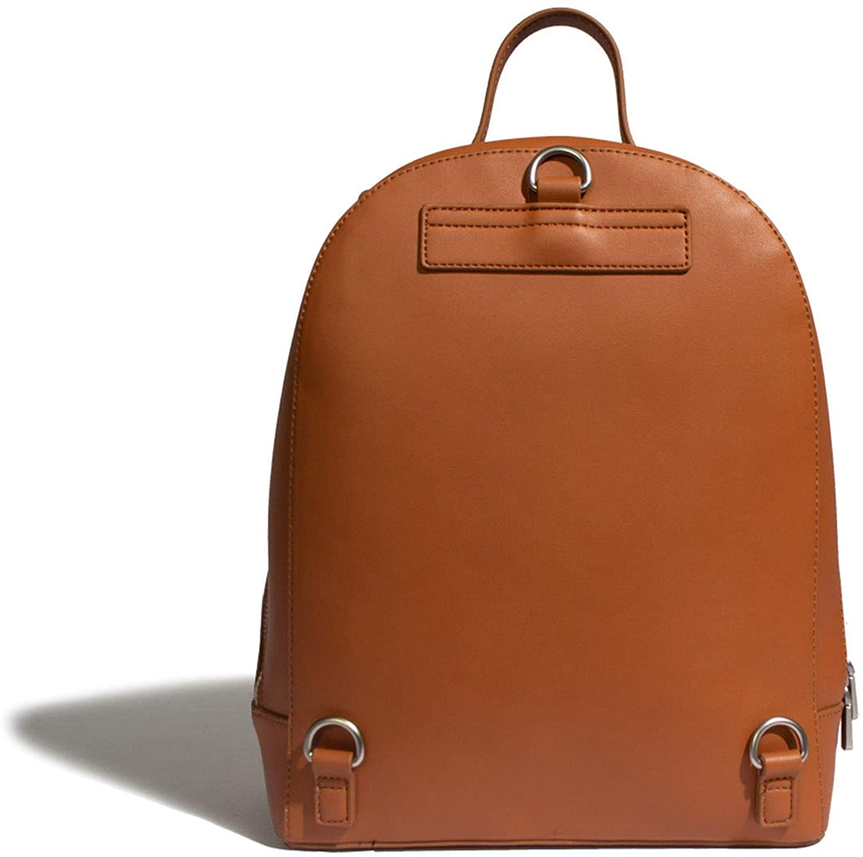 Pixie Mood Cora 12.5 x 10 Vegan Leather Convertible Backpack, Cognac Tan