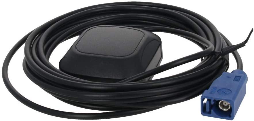 Othmro GPS Active Antenna FAKRA-C Straight 3M, 28dB LNA Gain 1575.42MHz GPS Active Antenna Stronger Signal