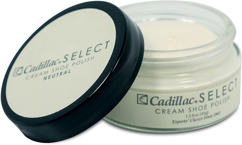 Cadillac Select Premium Cream Shoe Polish - Multiple Colors Available
