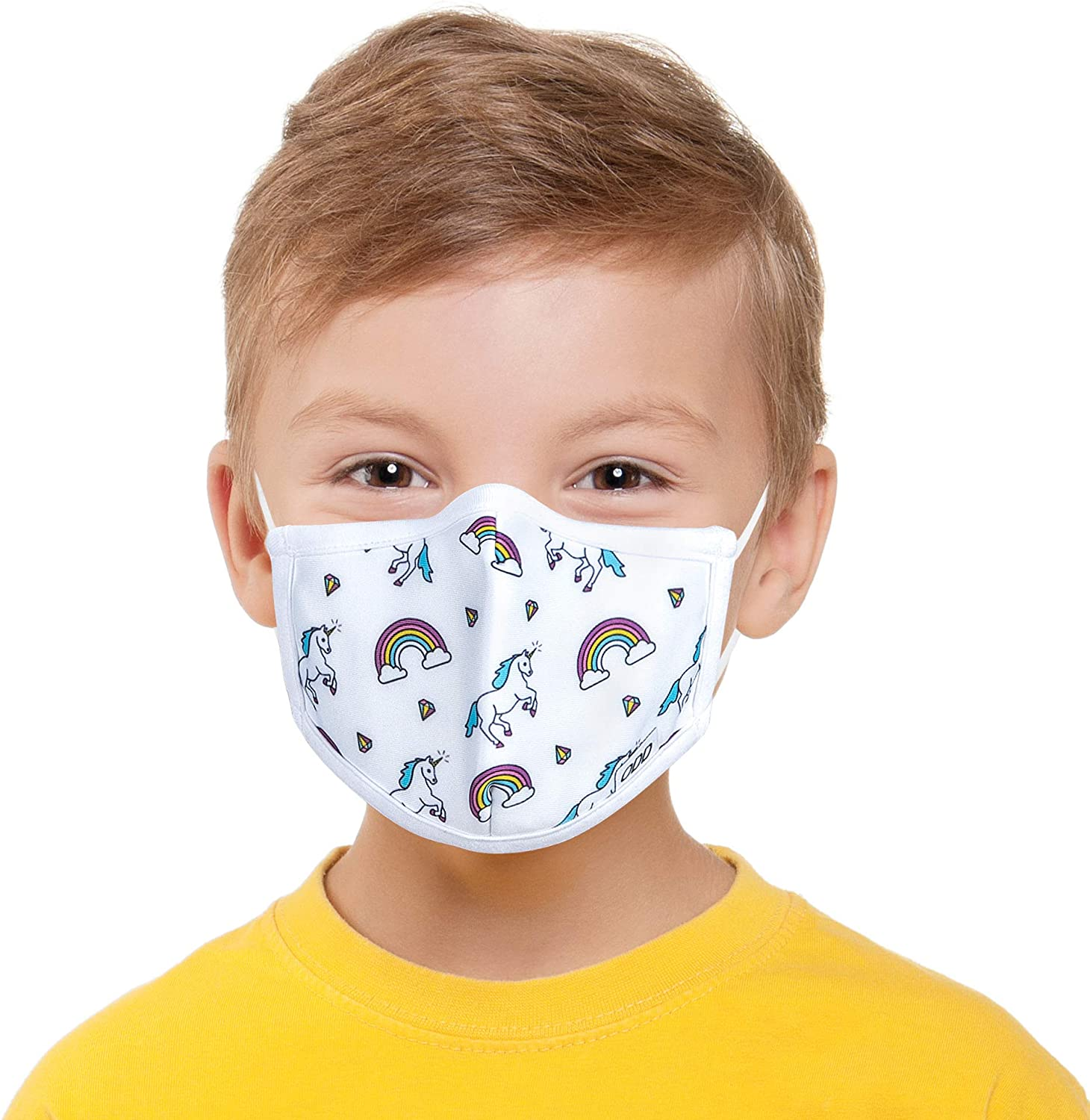 Odd Masks, Kids, Graphic, Fun Unique, Designer Face Mask, Reusable Breathable Fashion