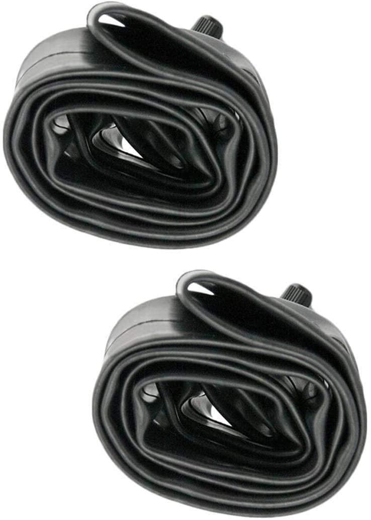 Helonge 24 Inch Bike Inner Tube,2 Pack 24 x 1.75-2.125 Bicycle Tire Tube, 34mm Schrader Valve