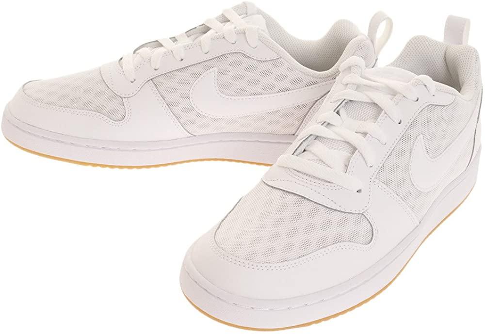 Nike Court Borough Low SE Mens Shoes Size 8.5 White/Black