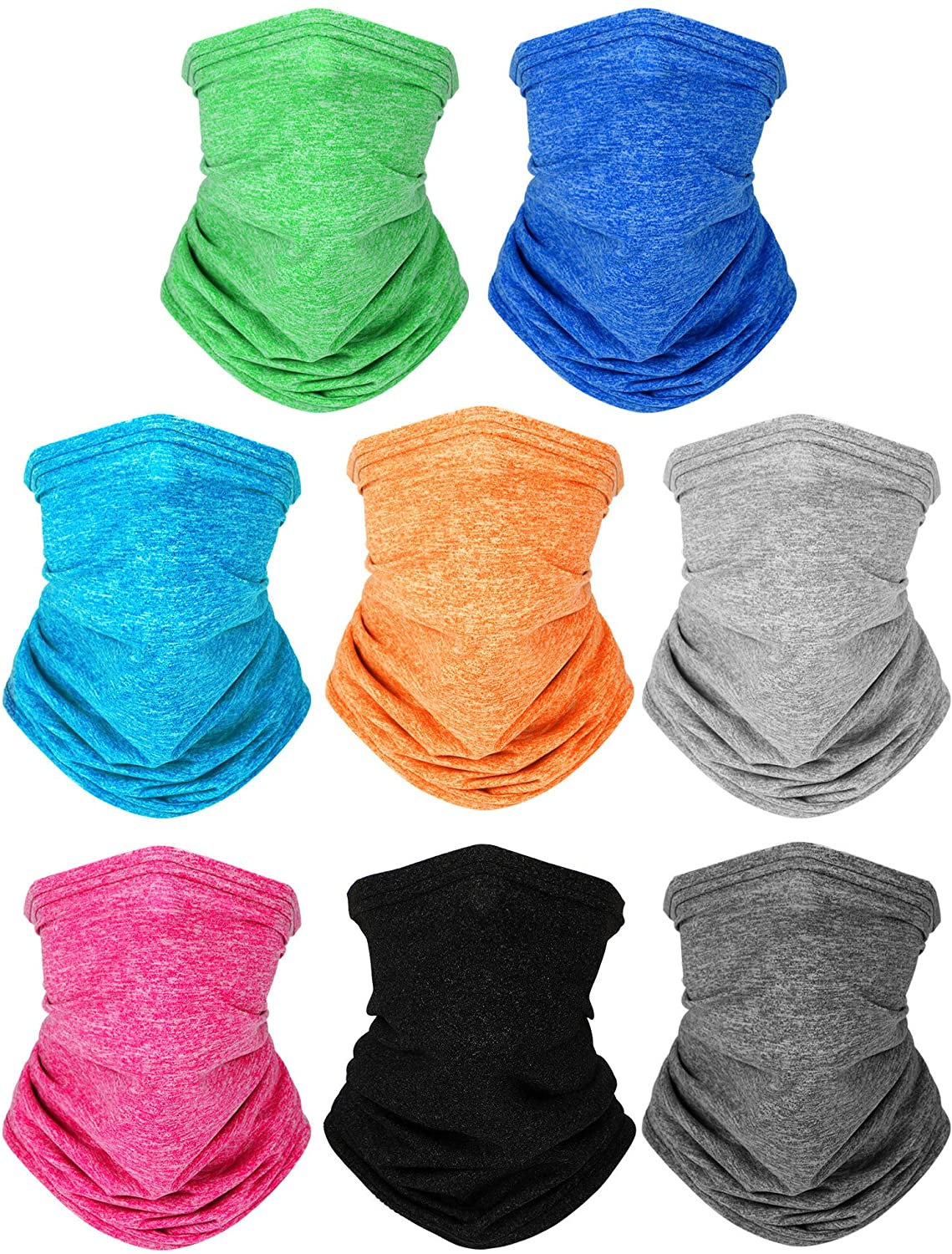 Kids Neck Gaiters UV Protection Bandana Balaclavas Face Cover Scarf for Outdoors Sports Favors