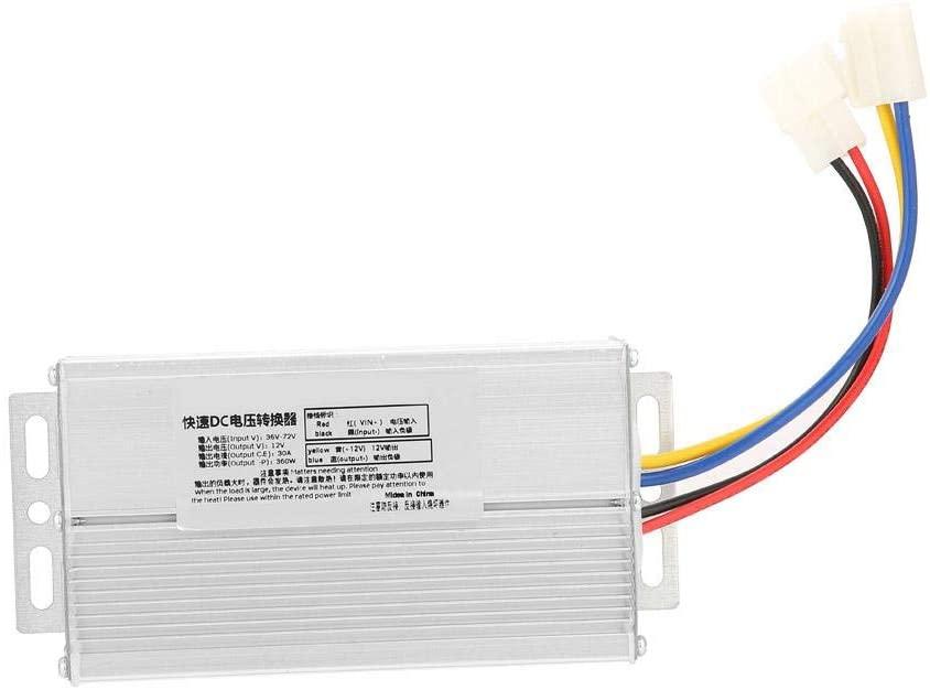 Zerone 36-72V to 12V 30A 360W DC Converter Adapter Voltage Transformer