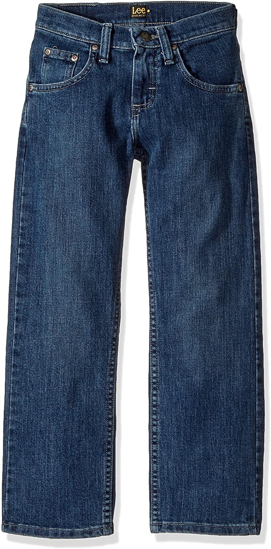 Lee Boys' Premium Select Regular Fit Straight Leg Jeans
