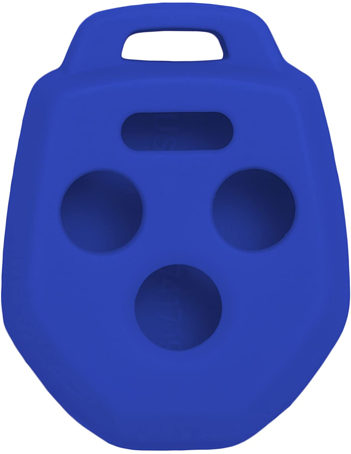 Keyless2Go New Silicone Cover Protective Case for Remote Key Fobs with FCC CWTWB1U811 - Blue