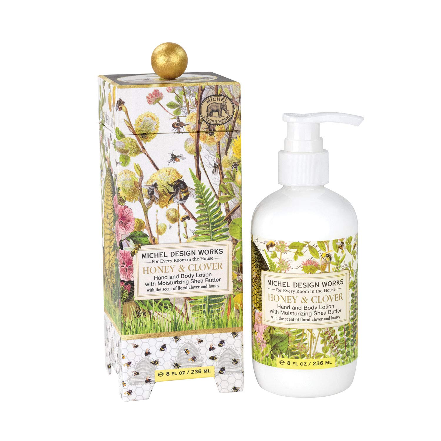 Michel Design Works Lotion, Honey & Clover